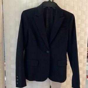 🌺Theory single button black blazer/jacket